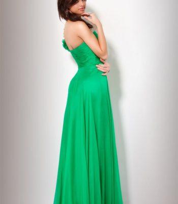 151627(J) suknia zielona