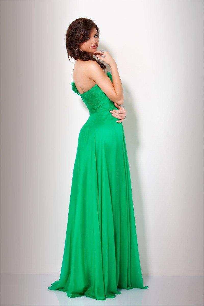151627(J) suknia zielona - Suknie wieczorowe