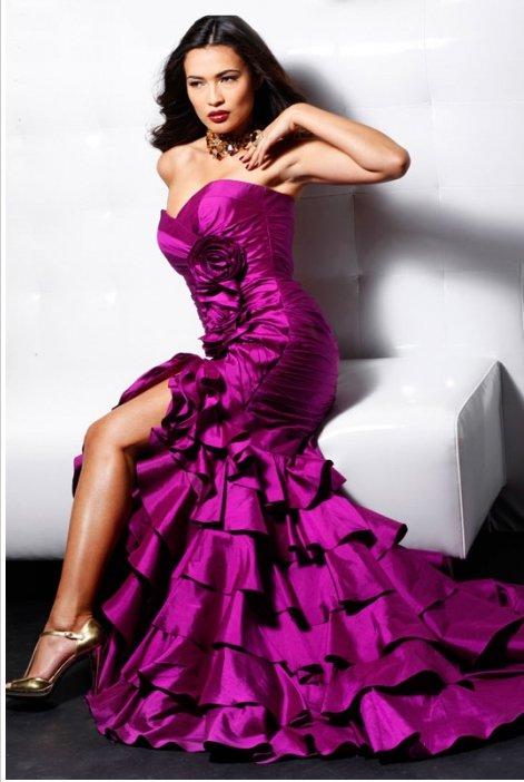 158589(J) suknia balowa