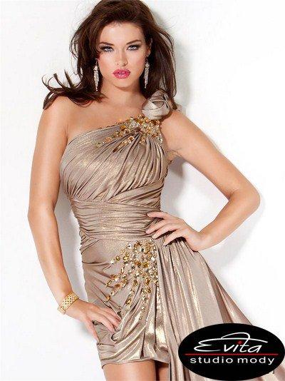 482(J) sukienka sylwestrowa - Suknie sylwestrowe