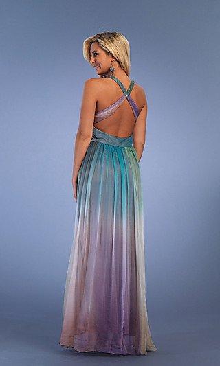 5421 sukienka ombre - Suknie wieczorowe