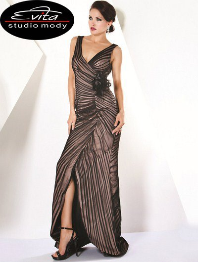 171341(J) sukienka balowa