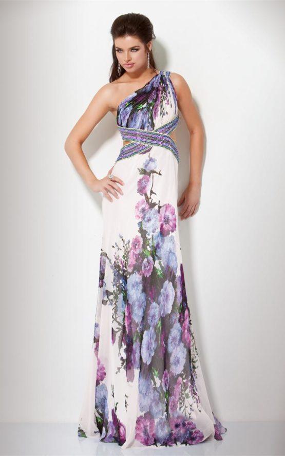 159845(J) suknia w kwiaty