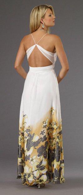5628 suknia wieczorowa - kolorowe