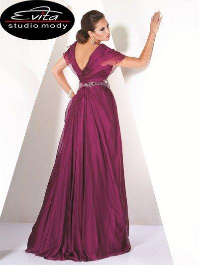 9666(J) suknia wieczorowa - Suknie wieczorowe