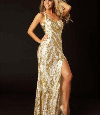 3487 suknia wieczorowa