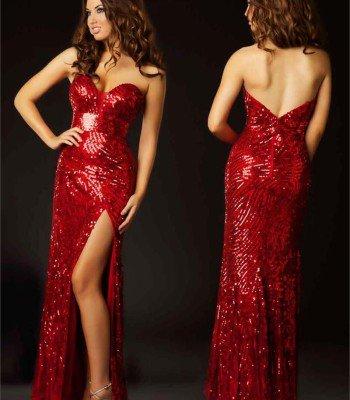 3494 suknia wieczorowa