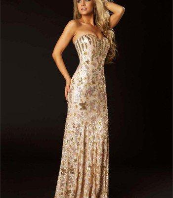 3544 suknia wieczorowa