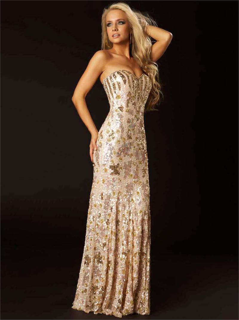 3544 suknia wieczorowa - Suknie wieczorowe