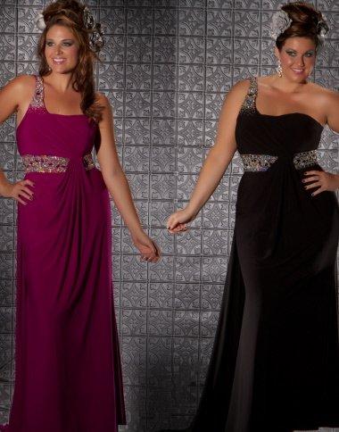 Czarna suknia balowa 75910 - Suknie wieczorowe