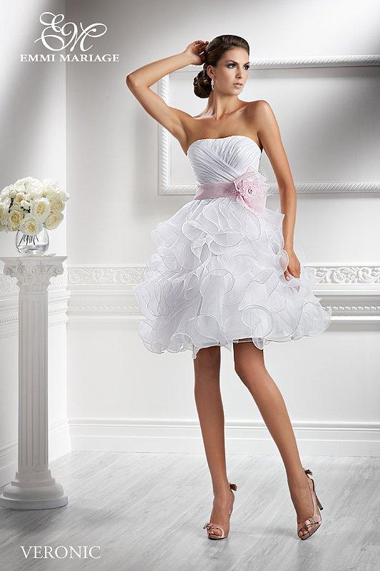 Veronic  suknia ślubna - KRÓTKIE