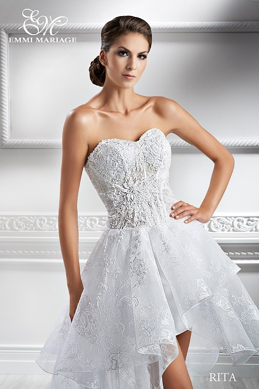 Rita  suknia ślubna - KRÓTKIE