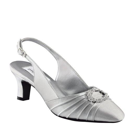 buty wieczorowe ann silver