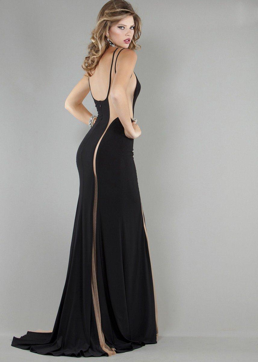 Czarno-cielista suknia balowa 762J - Suknie wieczorowe