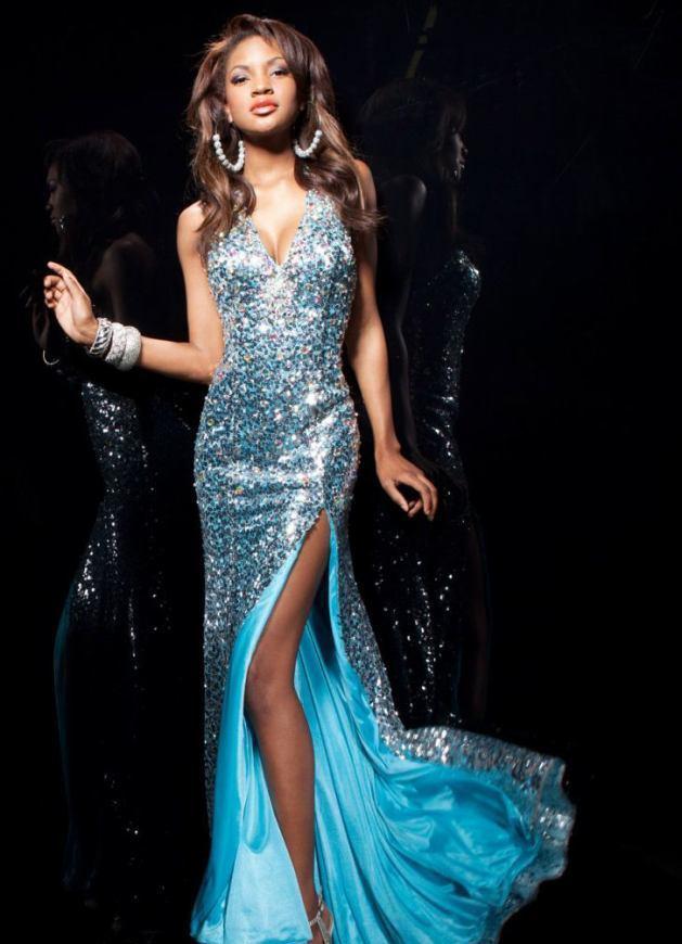 113730 suknia koktajlowa - Suknie wieczorowe
