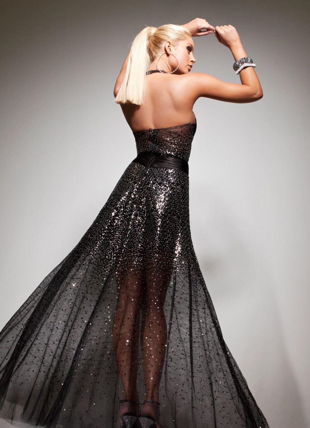 113734 suknia wizytowa - Suknie wieczorowe