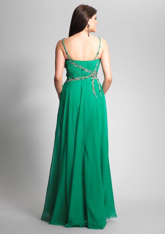 7058 suknia wieczorowa -