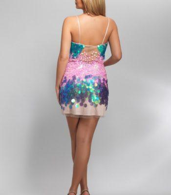 8024 suknia koktajlowa
