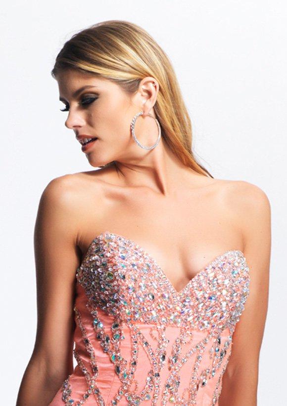 8409 suknia wieczorowa - Suknie wieczorowe