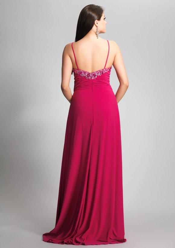 8429 suknia wieczorowa - Suknie wieczorowe