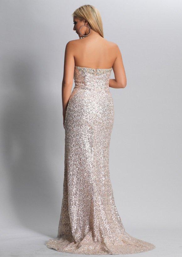 8940 suknia wieczorowa - Suknie wieczorowe