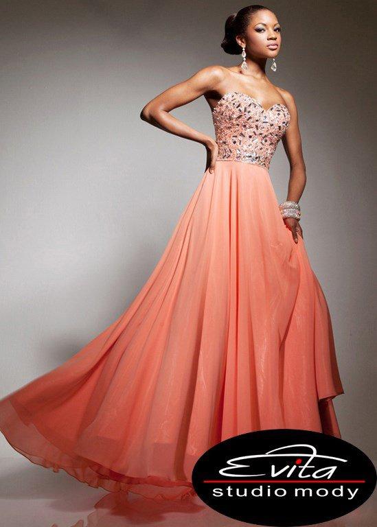 113554 suknia wieczorowa
