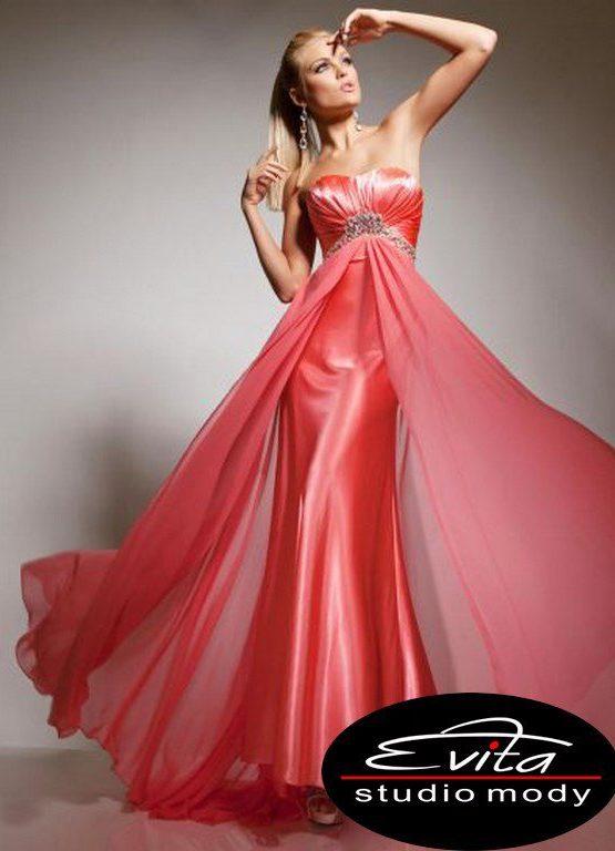 113555 suknia wieczorowa