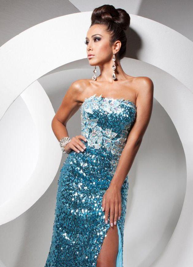 113756 suknia wieczorowa - Suknie wieczorowe