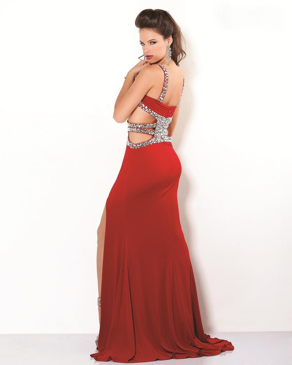 1599 suknia wieczorowa - czerwone
