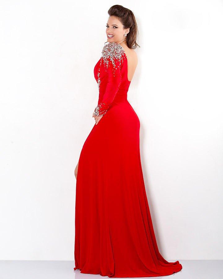 111046 suknia na wesele - czerwone