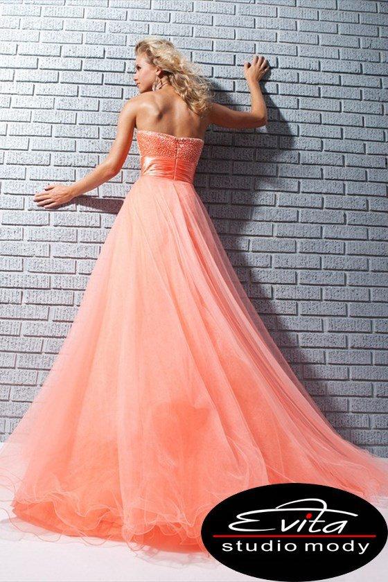 113552 suknia wieczorowa - Suknie wieczorowe