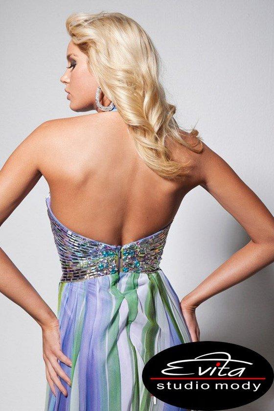 113710 suknia wizytowa - Suknie wieczorowe