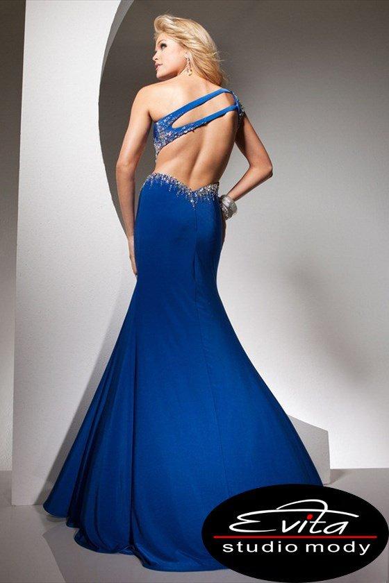 113746 suknia wizytowa - Suknie wieczorowe