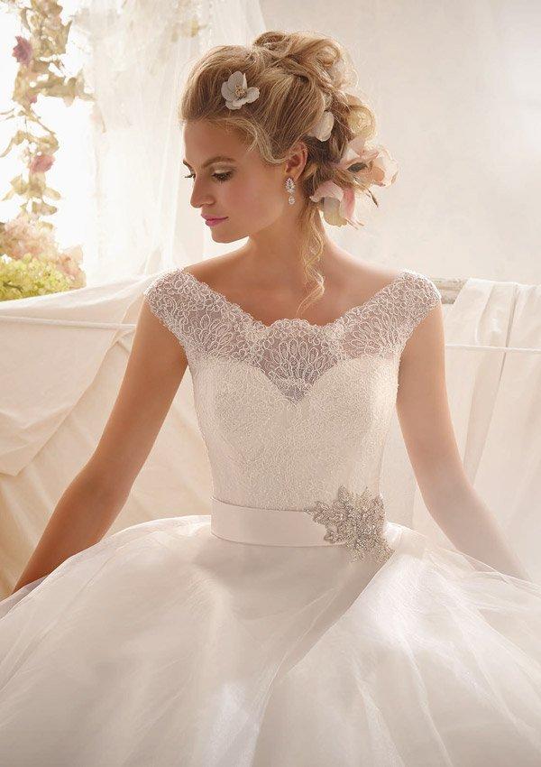 2607 suknia ślubna - Suknie ślubne