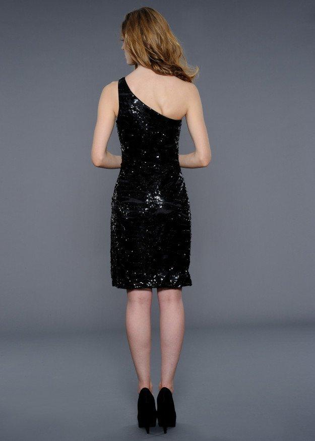 21796 suknia wieczorowa - Szare/srebrne