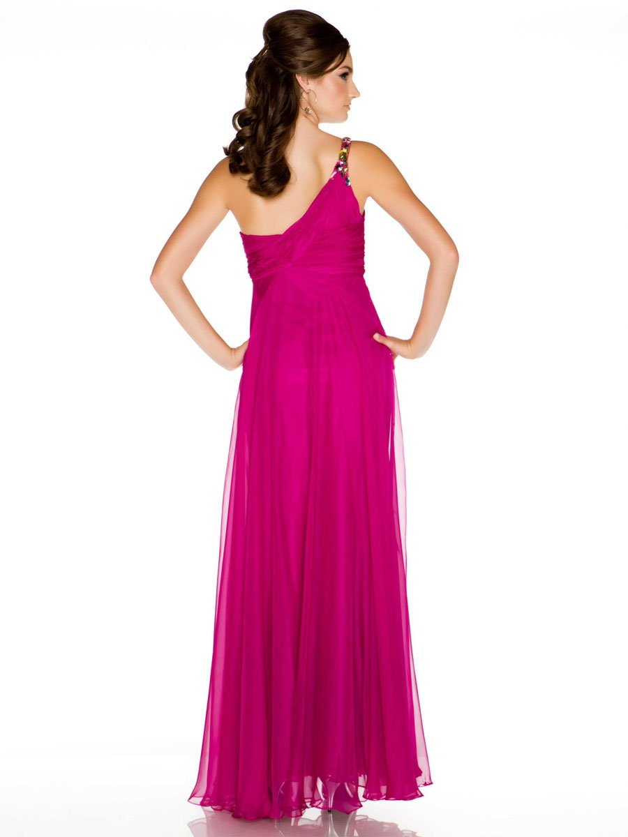 Czarna, lejąca suknia wieczorowa 6459md - Suknie wieczorowe