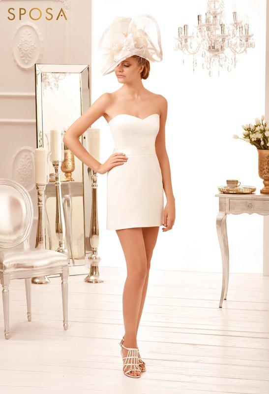 Hloud suknia ślubna - KRÓTKIE