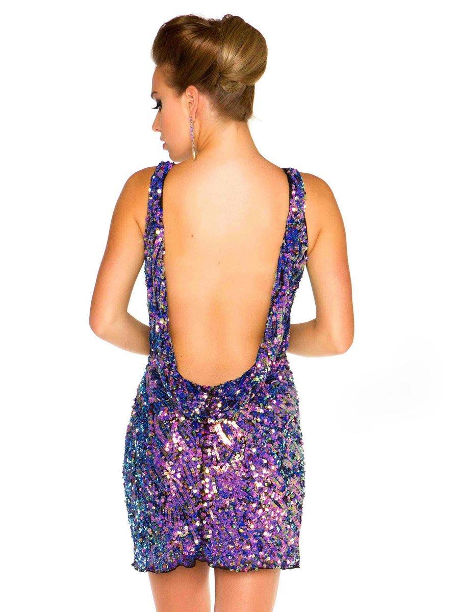 3464 sukienka mini - Suknie wieczorowe