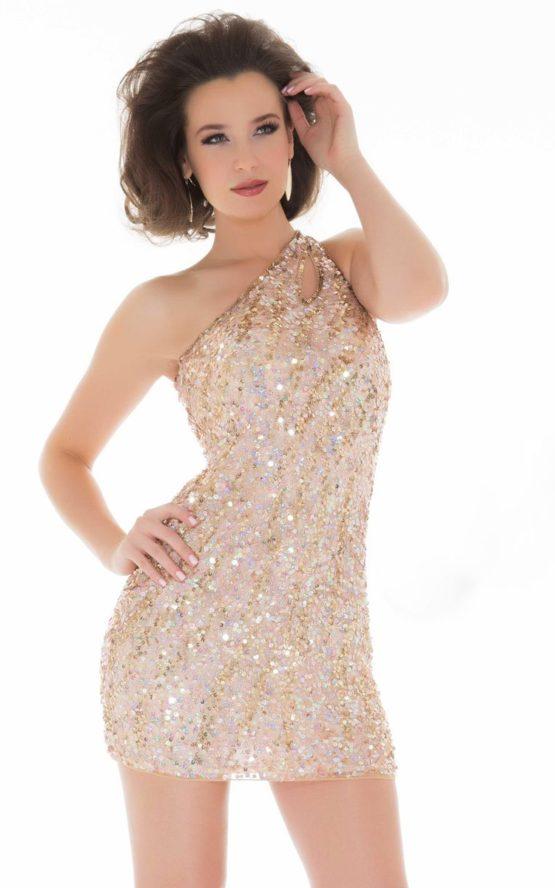 3467 sukienka mini