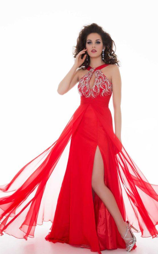 64535 suknia wieczorowa
