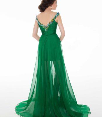 Krótko-długa suknia wieczorowa 64545