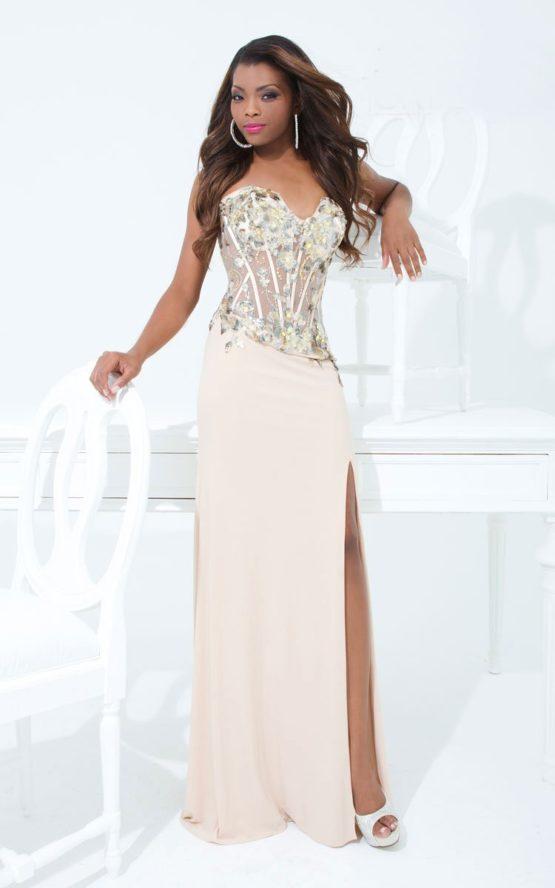 114736TB suknia wieczorowa