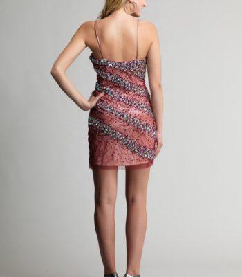 9118 sukienka krótka