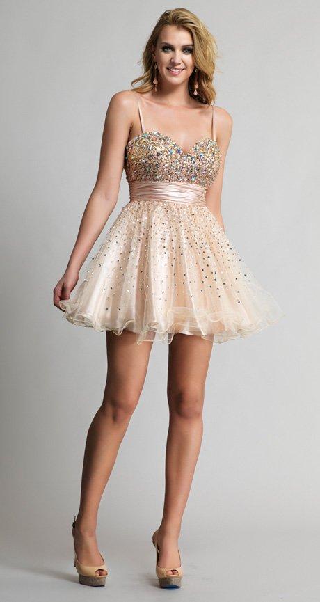 9206 sukienka krótka