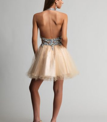 9376 sukienka krótka