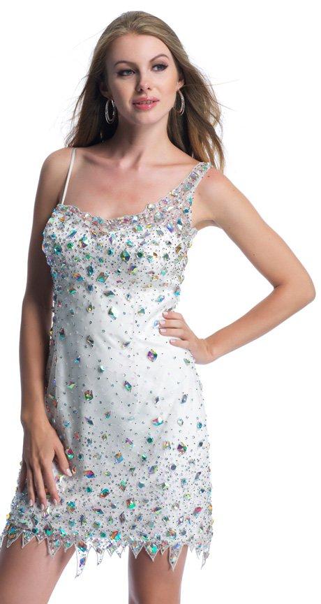 9383 sukienka krótka