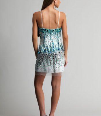 9492 sukienka krótka