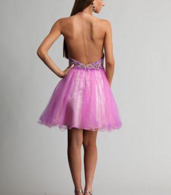 9663 sukienka krótka