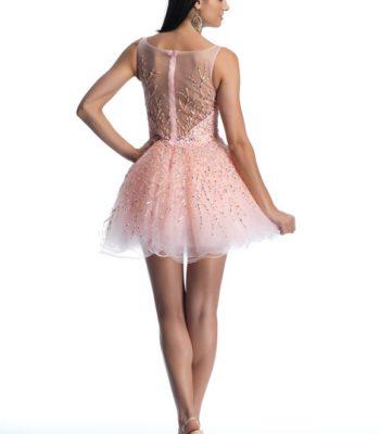 9888 sukienka krótka