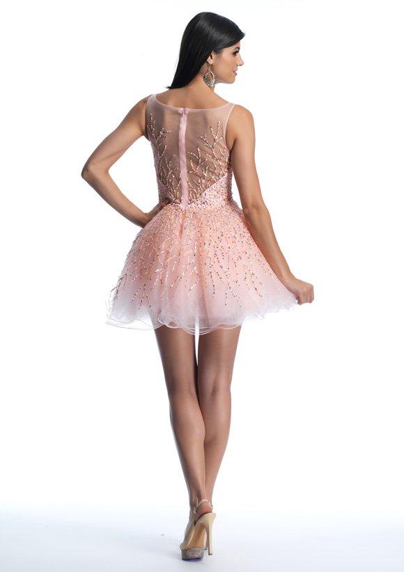 9888 sukienka krótka - Suknie wieczorowe